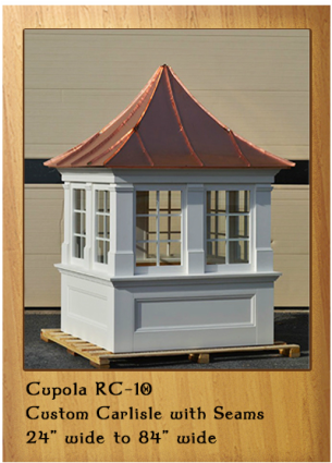Carlisle with Extra Standing Seam Copper Roof