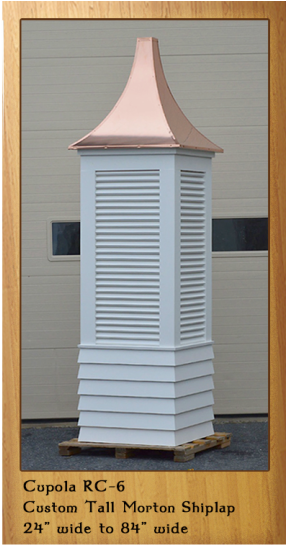 Extra Tall Cupola with a Shiplap Base