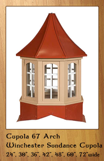 Six Sided Window Sundance Cupolas
