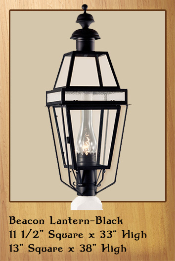 Beacon Lantern - Black