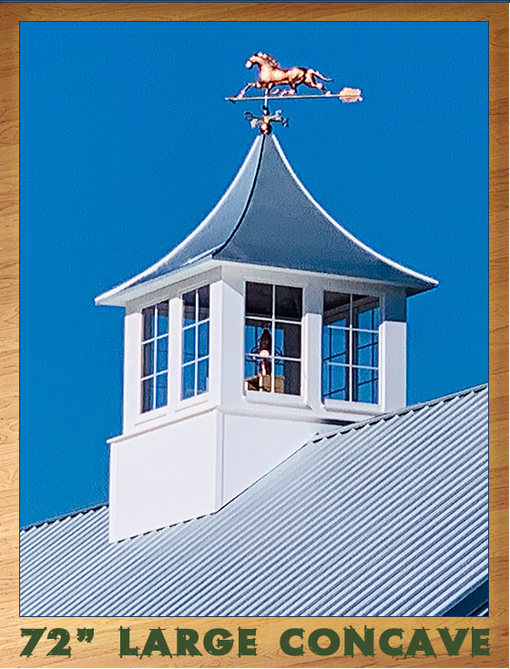 Gallery of roof cupolas