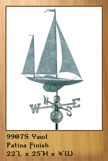 Yawl Weathervane