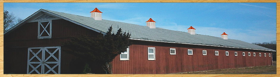 ​110' barn with four 42