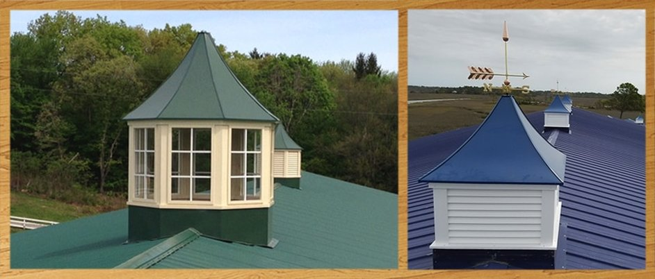 Larger Window and Louvered Sundance Cupolas
