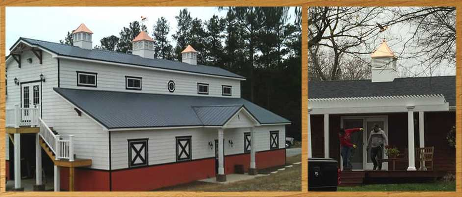 3 Vinyl Elite with Louvers Style Cupolas