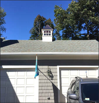 Cupola on Residential Garage