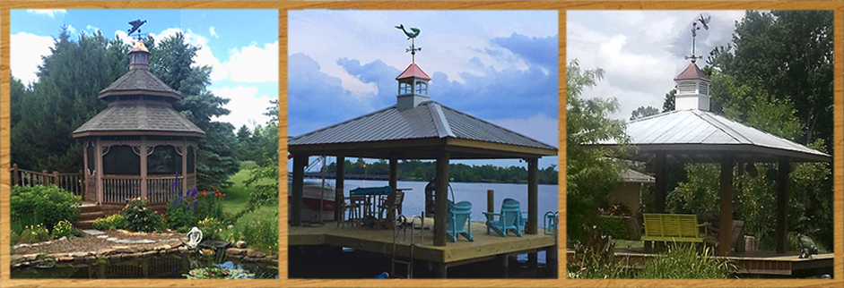 Cupolas for your gazebo or boat house