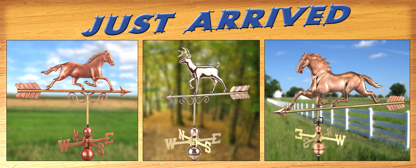Now In Stock Running Animals Weathervanes