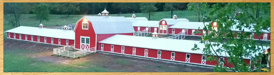 150' barns with multiple 36