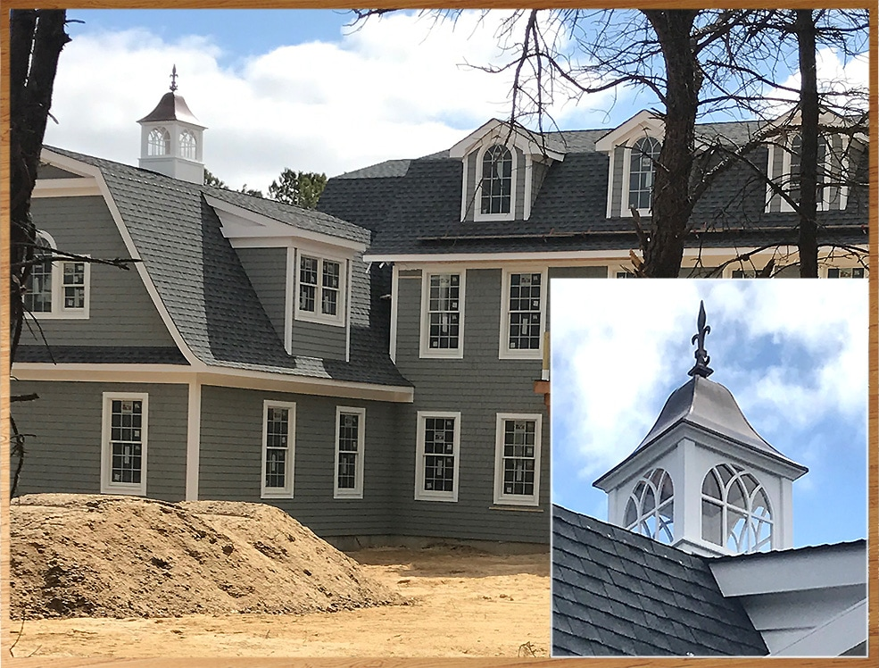 Roxbury Style Cupola, New Construction